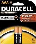 AAA 2-pack Duracell