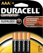 AAA 4-pack Duracell