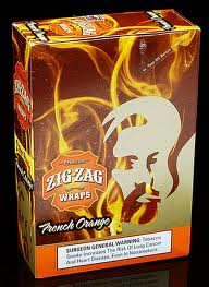 Zig Zag Wraps French Orange