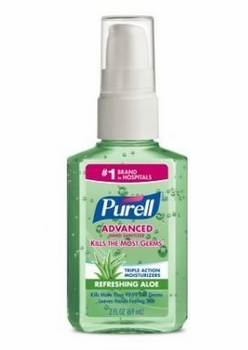 Purell 2oz Refreshing Aloe12/box