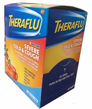 Thera Flu Severe Cold & CoughDaytime 20ct Single Packs