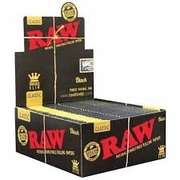 Raw Black King Size 50/bx