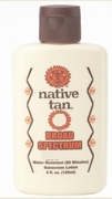 Native Tan 4oz SunblockSPF 20 6/box