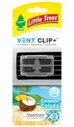 Little Tree Ven Clip 4/bx Caribbean Colada
