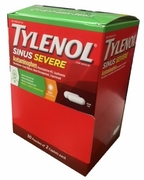 Tylenol Sinus 50/2pk 4 Box Deal
