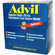 Advil 50 2 pk 4 -Boxes