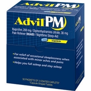 Advil Pm 50 2 pks4 boxes