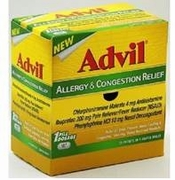 Advil Allergy & congestion50 1/pk