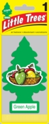 Little Tree Air Freshener 24/box Green Apple