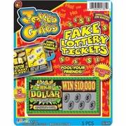 Fake Lottery Tickets 12/bx