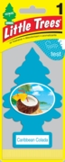 Little Tree Air Freshener 24/box Caribbean Colada