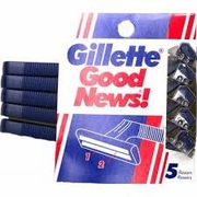 Gillete Razor 5 pack