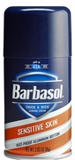 Barbasol Shaving CreamSensitive 12/bx