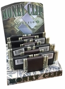 Leather Money Clip 12/bx