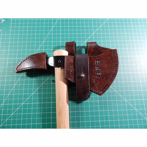 Leather sheath for Cold Steel Spike hawk tomahawk