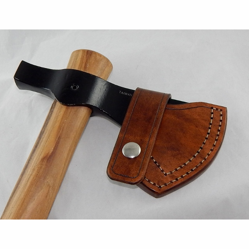Leather sheath for Cold Steel Trail Hawk tomahawk
