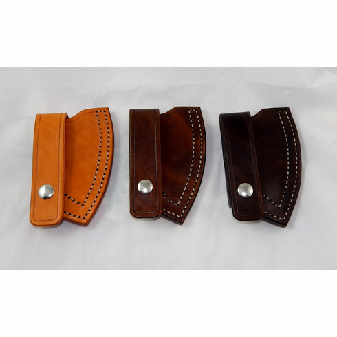 Leather sheath for Cold Steel Rifleman tomahawk