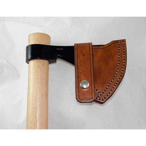Leather sheath for Cold Steel Frontier Hawk tomahawk