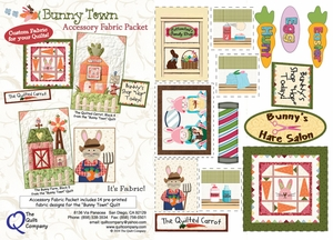 Bunny Town Accessory Fabric Packet