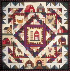 SOLD OUT - This Old Barn Quilt Pattern- Complete Set