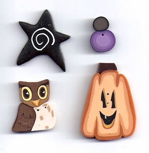 Sew Spooky Button Packet