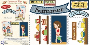 Summer Fun Accessory Fabric Packet
