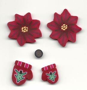 Holly Lane Button Packet