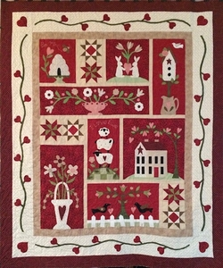 From the Heart quilt by Gail Korneliusen
