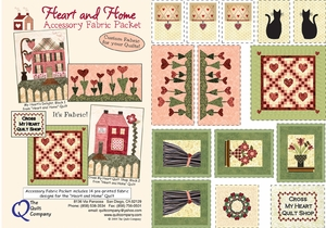 Heart and Home Fabric Accessory Packet