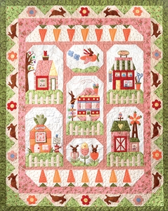 Bunny Town, The Complete Set of Patterns