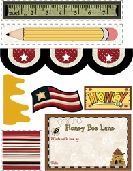 Honey Bee Lane Accessory Fabric Packet