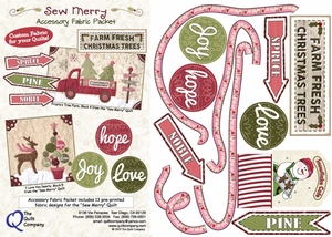 Sew Merry Accessory Fabric Packet