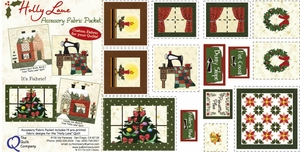 Holly Lane Accessory Fabric Packet