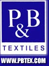 P & B Textiles is a leading supplier of 100% cotton fabrics for quilting and crafts.  We used P & B Textile fabrics exclusively on our Thyme to Water patterns.