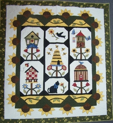 Quilt made by Barbie Burrage