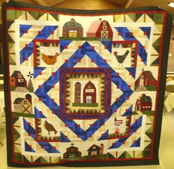 Fundraiser Quilt by Janet Meyer