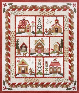 Gingerbread Village - The Complete Set of Patterns