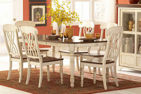 Buttermilk Dining Set #3018