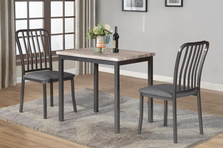 Small Grey Dining Set #T3720