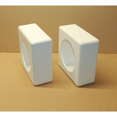 Shallow Mount Marine Speaker Boxes