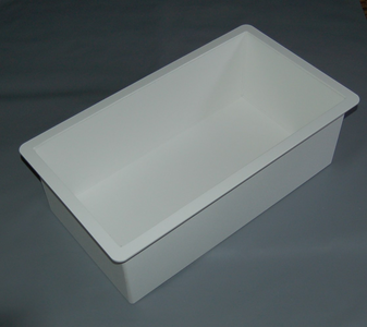 Leaning Post Drop-In Storage Tray