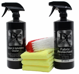 BLACKFIRE Fabric Protectant & Cleaner Kit