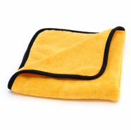 Gold Plush Jr. Microfiber Towel, 16 x 16 inches