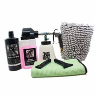 BLACKFIRE Air Foamer HP Wash & Wax Kit