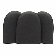 Black Fine Flex Foam Finger Pockets - 3 Pack