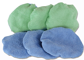 Special Purchase 6 Inch Microfiber Bonnet 6 Pack