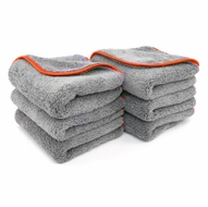 Chinchilla Microfiber Buffing Cloth, 16 x 24 inches - 6 Pack
