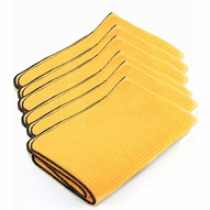 6 Pack Guzzler HD Waffle Weave Drying Towels