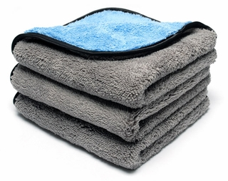 Shine & Buff Waterless Wash Towel, 3 Pack