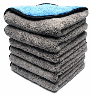 Shine & Buff Waterless Wash Towel, 6 Pack